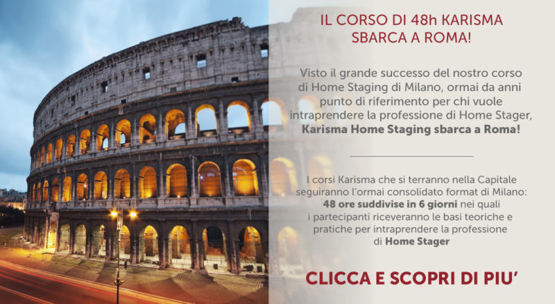 Corsi di home staging Roma - Karisma Home Staging