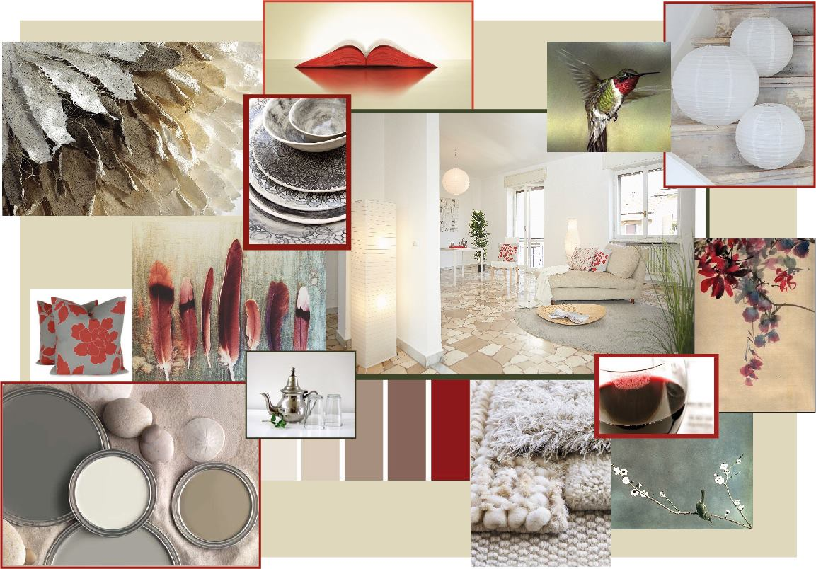 Concept Board Karisma Home Staging